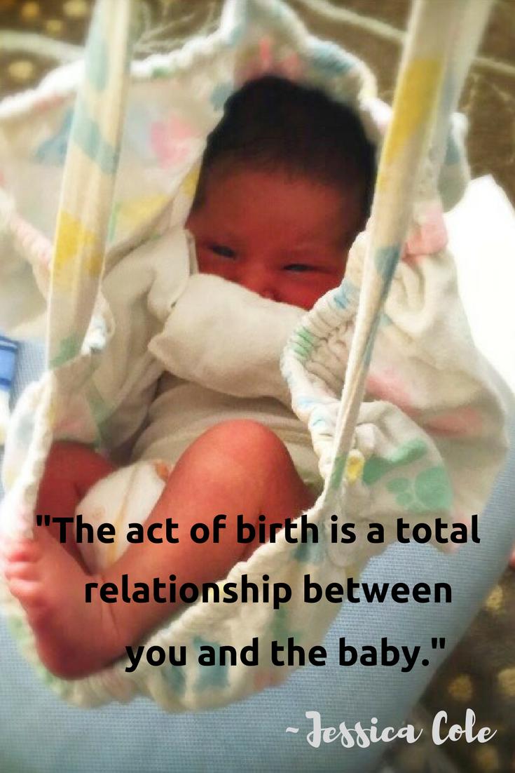 Baby at homebirth