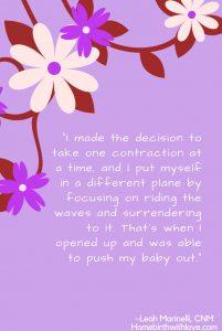 Homebirth quote