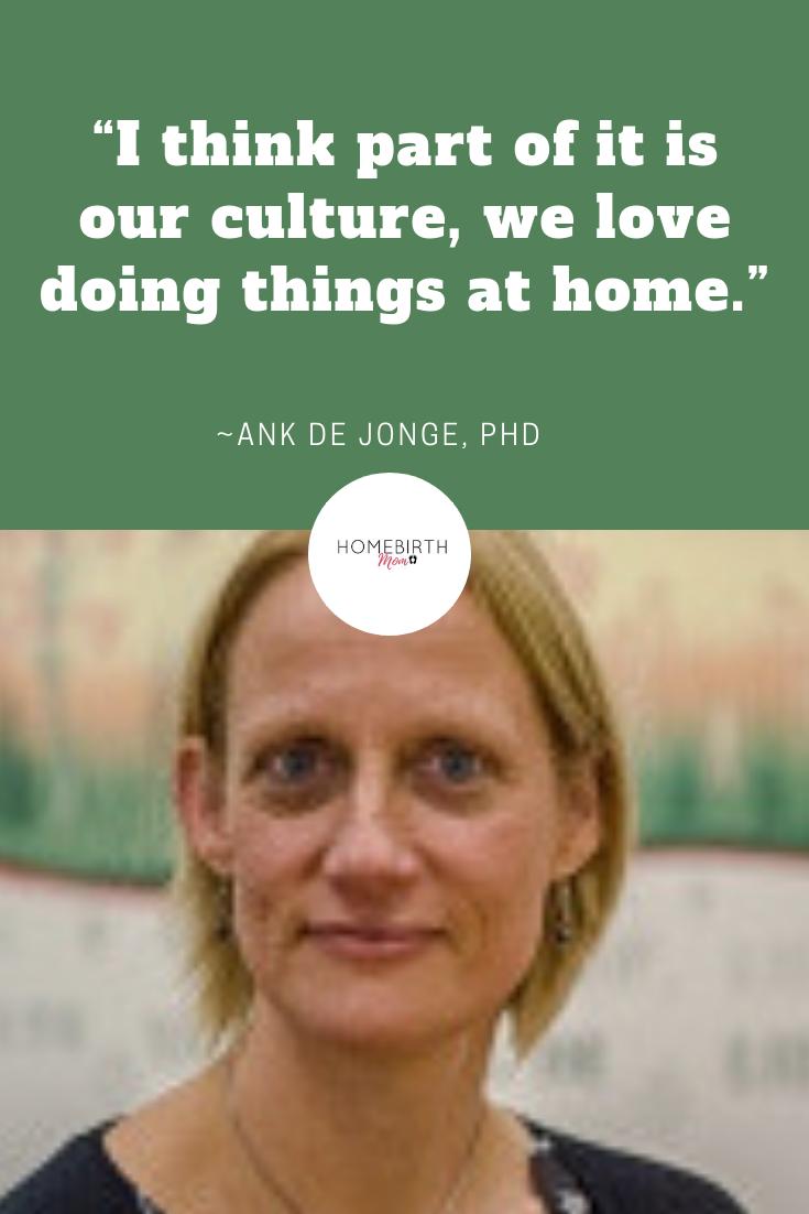 ank de jonge, homebirth midwife and researcher